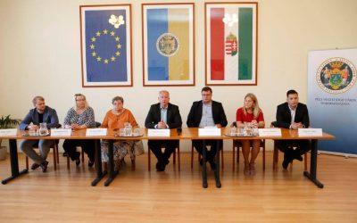 Bemutattuk a városvezető frakciószövetséggel a Dénesi ÖdönProgramot